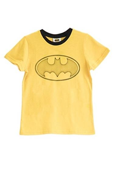 Batman Batman Lisanslı Sarı Erkek Çocuk T-Shirt Sarı